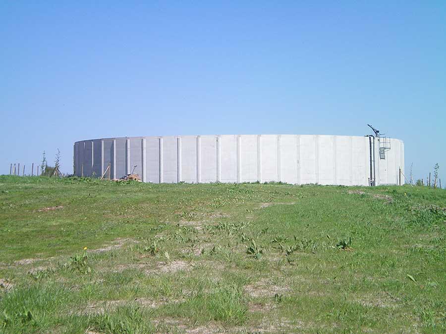 FF-Stahlbeton-Güllebehälter in Friedersdorf